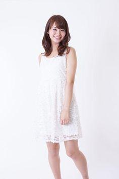 井上清華 White Dress, Kawaii, Summer Dresses, Anchor, Girls, Fashion, Toddler Girls, Moda, Summer Sundresses