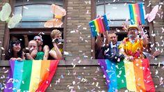 The 15 Most Colorful Pride Celebrations Around the World via Brit + Co.