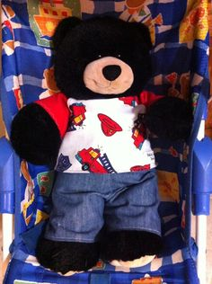 Build A bear pattern from Etsy Make your own Bears 'N Buddies clothes: by PickleToesPatterns