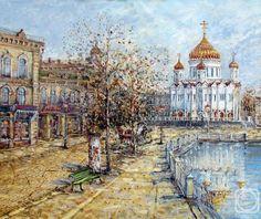 Старая Москва. Пречистенка.  А. Фомина .