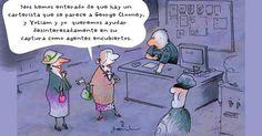 Garrincha mujeres crimen polic'ia | Caricaturas - Yahoo Noticias en Español