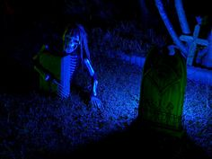 Blue Green  Something wicKED this way comes....: Wicked Woods Cemetery Halloween 2011