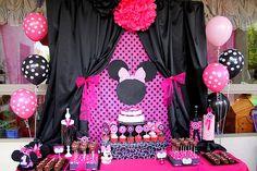 Decoración de Minnie Mouse para Fiestas Infantiles   Blogicasa ...