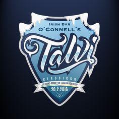 Talviklassikko • Winter Classic Logo  #talviklassikko #winterclassic #hockey #logo #icehockey #winter #ice #logodesign #shield