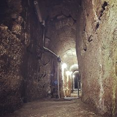 2100 years old gutter underneath the Herodian street the was used by Jesus and the disciples., by Amir Tsarfati