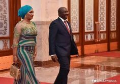 Bawumia couldn't propose directly when we first met - Samira Bawumia African Wear Dresses, African Attire, Agbada Styles, Kente Styles, African Head Wraps, African Beauty, African Style, African Print Fashion, Spring Outfits