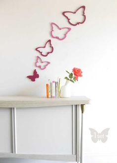 ... Butterfly Wall Decor for Modern Kids Girls Bedroom — Erdexon.com, 500x695 in 14.3KB