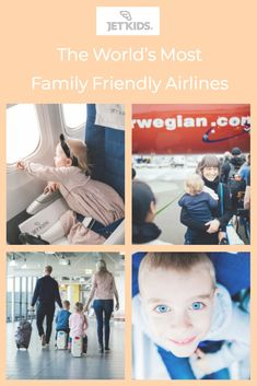 These are the world's most family friendly airlines. Jet Kids, Flying With Kids, Hand Luggage, Travel Gadgets, Ultimate Travel, Travel With Kids, Friends Family, World, Children