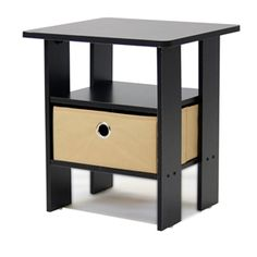 Espresso End Table Nightstand for Bedroom or Living Room   #Espresso #Table #Nightstand #Bedroom #Livingroom #shopping #buy #onlinestore #furniture #bargains #sell #stylishfurniturestore #home #decor #interior #design