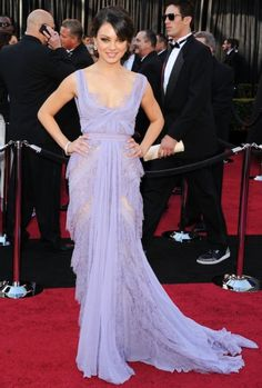 i really just can't get over how perfect this dress is! mila kunis - oscars 2011