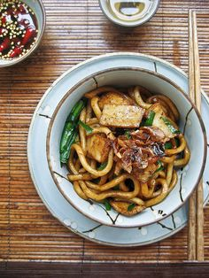 Hong Kong Style Soy Sauce Udon recipe