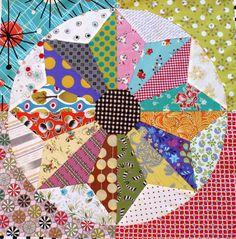 Scrappy Windmills PDF quilt pattern