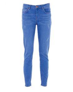5Units KATE Jeans Used-Look Indigo Blau