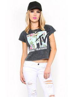 #MTV Mineral Crop Top