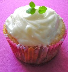 Mint julep cupcakes - party favorite