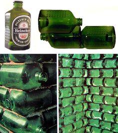 Isso é eco-design. Design, Inovação e Reutilização: Heineken WOBO