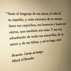 Mind of Brando. Carats al tiempo.