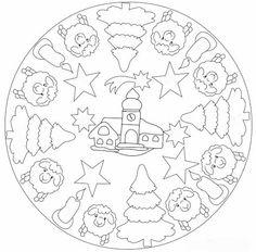 * Mandala: Kerstnacht!