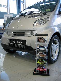 Smart Car Model Vehicle Stacker