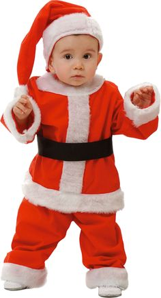Disfraz de Papá Noel Bebe