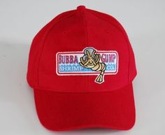 0d1ca479 1994 BUBBA GUMP SHRIMP CO. Baseball Sport Summer Outdoor Cap Embroidered Hat  Forrest Gump Costume