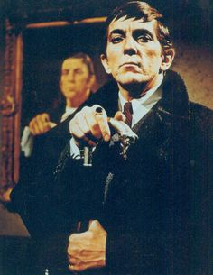 I would rush home from school and watch Dark Shadows everyday.....Barnabas Collins!