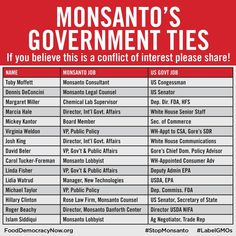 Monsanto claims that GMOs and their weedkiller Roundup are perfectly safe. So why are they fighting GMO labeling in the U.S.? As the manufacturer of Agent Orange, DDT, PCPs and dioxin, Monsanto's toxic legacy of harm to the environment and human health is without parallel. http://action.fooddemocracynow.org/sign/take_the_Monsanto_stock_plunge/