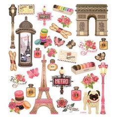 paris scrapbook collection - Google Search