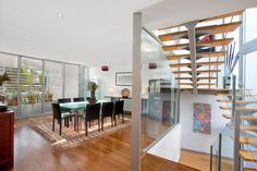 Architecturally designed, ultra spacious, dining room, light filled, wine fridge, 21 Wells Street, Pilcher Residential