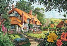 the summer thatchers (70 pieces)
