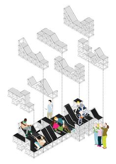 Build A Computer 413768284510583862 New Architecture, Pavilion Architecture, Architecture Details, Sustainable Architecture, Contemporary Architecture, Urban Furniture, Street Furniture, Architecture Presentation Board, Presentation Boards