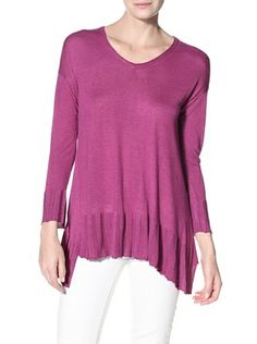 64% OFF Kokun Women's V-Neck Trapeze Sweater