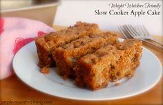 Slow Cooker Apple Cake