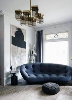 Tableau inspiration + Bourellec sofa