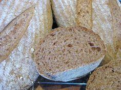 First from the Italian Bread project - sourdough pane de como