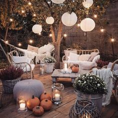 The Happiness of Having Yard Patios – Outdoor Patio Decor Outdoor Rooms, Outdoor Decor, Outdoor Ideas, Outdoor Lighting, Patio Ideas, Backyard Patio, Cozy Patio, Porch Decorating, Decorating Ideas