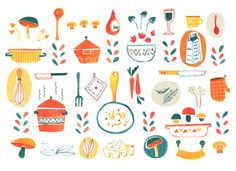 pattern cucina by Susanna Rumiz, via Behance