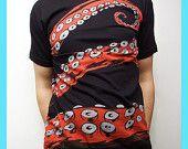 """T shirt octopus. Está muy chingona. (Ahora, que salga la de hombre """"robusto"""", me la doy)"""