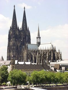 Cologne Cathedral, German. Survived thousand bomber raids in a world war, with a few scratches - well quite big scratches -  but intact.
