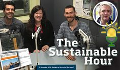 A sustainable hour about community energy on 23 November 2016. Our inspiring guests in the studio are: Nicky Ison and Manny Pasqualini from Community Power Agency – among Australia's leading experts in community energy (they enter at 28:30 min in…