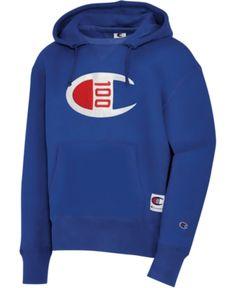 Champion Men's Century Logo Hoodie - Surf The Web Crew Shop, Mens Sweatshirts, Men's Hoodies, Baby Clothes Shops, Trendy Plus Size, Mens Fashion, Guy Fashion, Logos, Furniture Logo