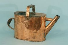 163: ANTIQUE COPPER WATERING CAN