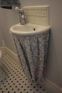 Tutorial Sink Skirt Craft Buds