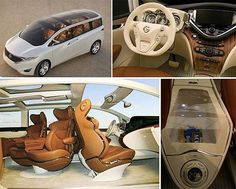 I will NEVER be a minivan mommy! But this one is pretty cool & the only one I'd drive.