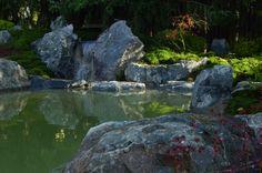 in Zusammenarbeit mit der Firma KOKENIWA gestalteten wir in Gießen  einen Moosgarten mit Teich und Wasserfall Zen, Beautiful, Water, Outdoor, Garden, Beautiful Images, Garden Art, Water Pond, Waterfall