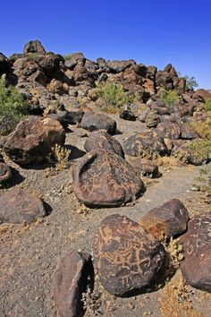Painted Rock Petroglyph Site, Arizona (by Buck–Fever)