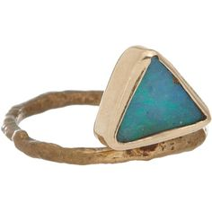 Wendy Nichol Black Opal Triangle Ring