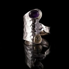 silver ring ringtribalik jewelrytribal rings tribal by TRIBALIK