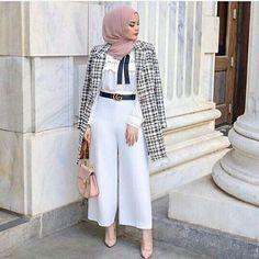 Modest Fashion Hijab, Modesty Fashion, Casual Hijab Outfit, Hijab Chic, Muslim Fashion, Mode Outfits, Fashion Outfits, Mode Turban, Hijab Trends