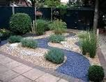 front garden with slate chippings uk - Google Search